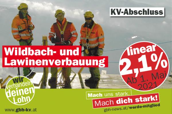 KV Wildbach- und Lawinenverbauung