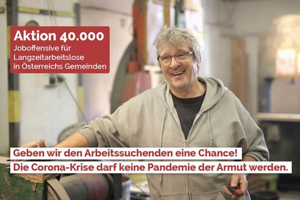 Start der Online-Petition Aktion 40.000