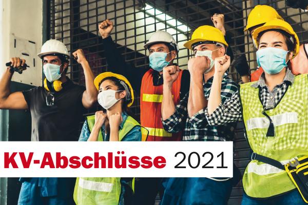 Broschüre: KV-Abschlüsse 2021