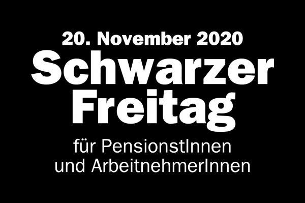 Schwarzer Freitag: Regierung kürzt Pensionen